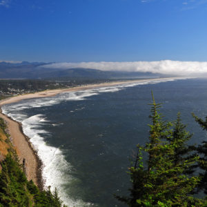 Oregon-Coast-Beach-at-Manzanita-from-US101-Overlook-at-Smugglers-Cove