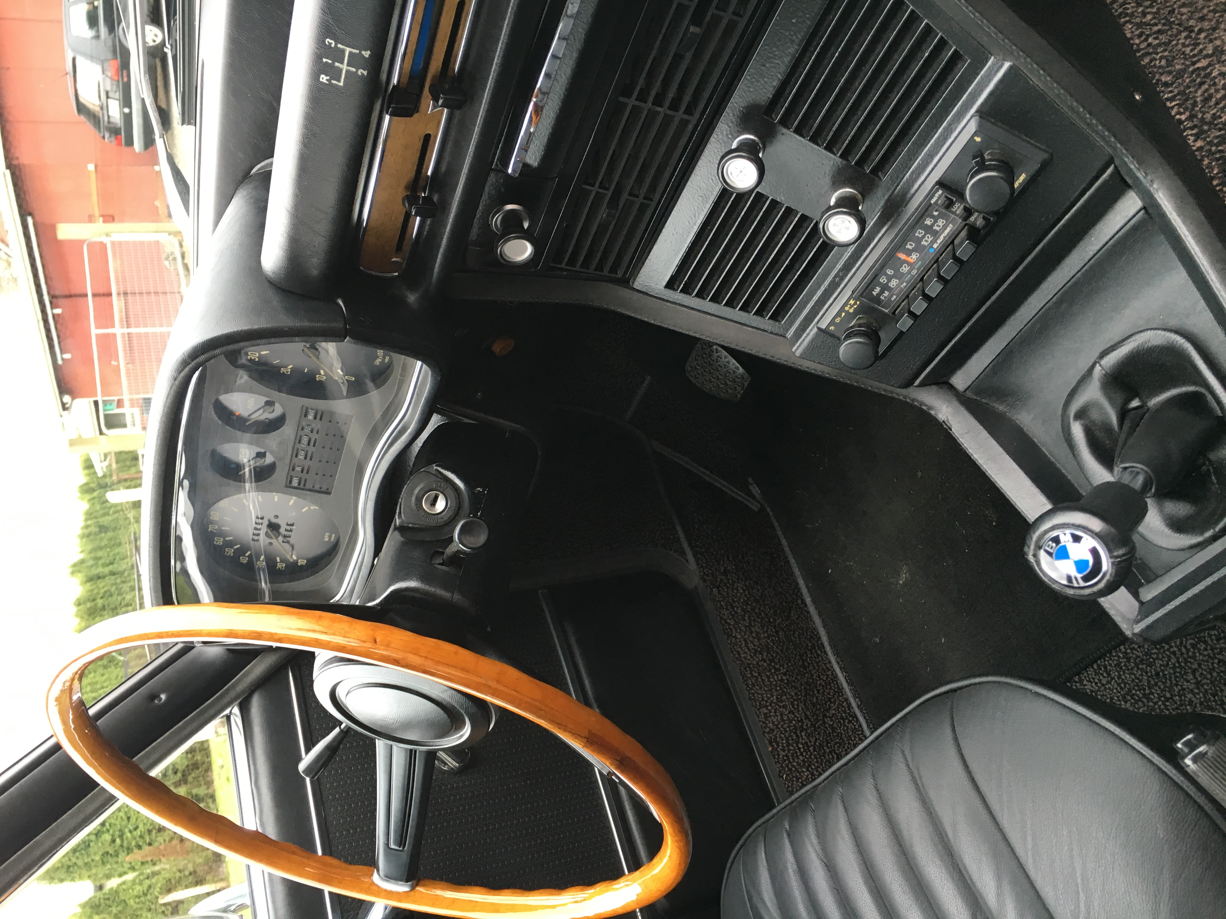 1970 Bmw 2800 R Front Dash And Steering Wheel A 06mar16