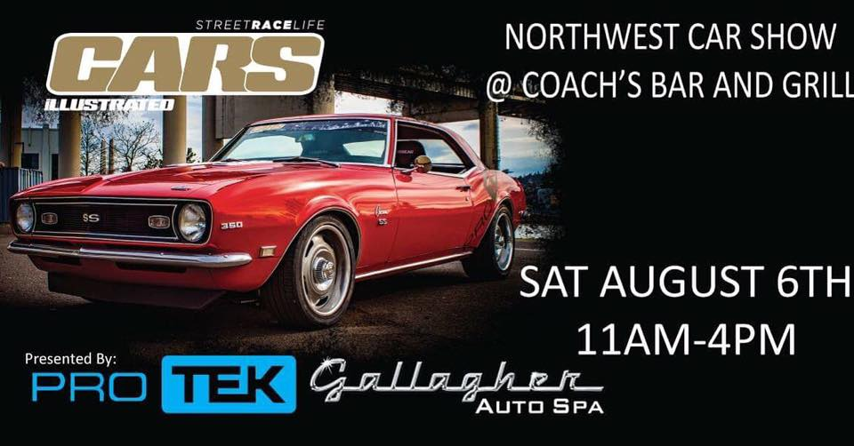 Cars Illustrated Car Show and Drive-In at Coach's Bar & Grill