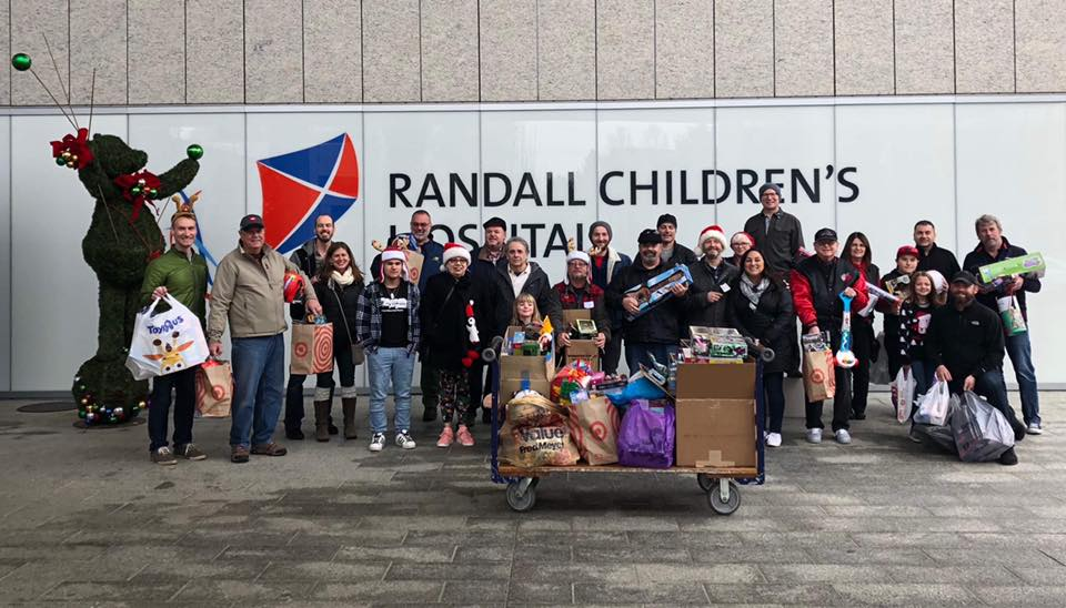Randall Children's Hospital Toy Drive
