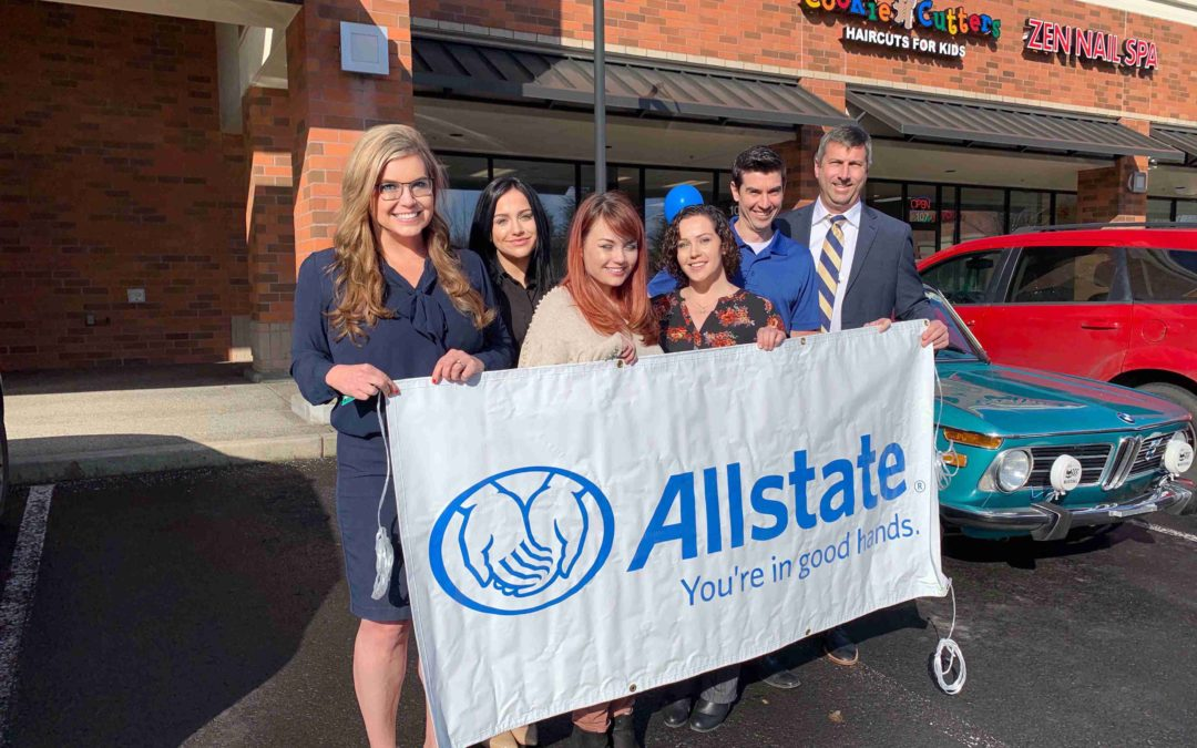 First Cars and Coffee of 2020 and Allstate Ribbon Cutting